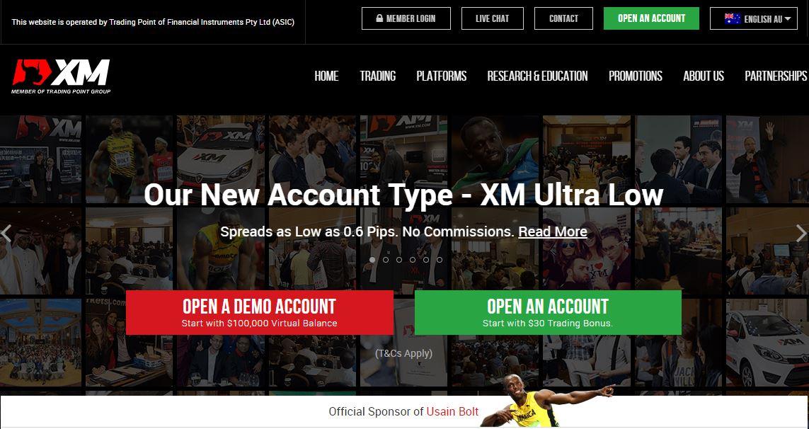 About XM Forex Broker Website